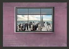 Fototapete New York Fenster II 245 cm x 350 cm