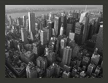Fototapete New York: Hochhäuser (Sicht aus der