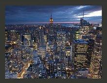 Fototapete New York - Nacht 193 cm x 250 cm