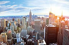 Fototapete New York Skyline Wandbild Dekoration