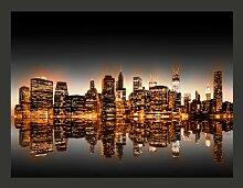 Fototapete New York und Gold 154 cm x 200 cm East