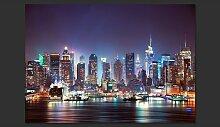 Fototapete Night in New York City 245 cm x 350 cm