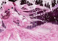 Fototapete Nippon Collection, pink-farbene Frau