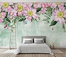 Fototapete Nordic 3D Blumen Tapete Wohnzimmer