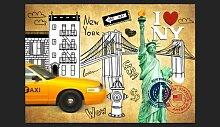 Fototapete One way - New York 210 cm x 300 cm