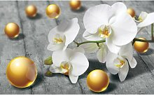 Fototapete Orchidee 0.71 m x 104 cm East Urban Home