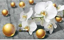 Fototapete Orchidee 0.91 m x 211 cm East Urban Home