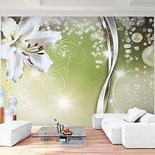 Fototapete Orchidee 308 x 220 cm - Vliestapete - Wandtapete - Vlies Phototapete - Wand - Wandbilder XXL - Runa Tapete 9077010a