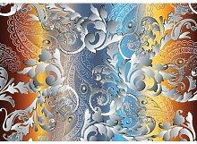 Fototapete Ornament Papier 2.54 m x 368 cm East