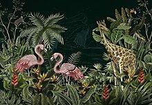 Fototapete Papagei Tiere Dschungel Wohnzimmer