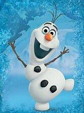 Fototapete Papier Tapeten Wandbild Frozen Olaf