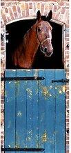 Fototapete Pferd 200 cm x 90 cm 2-tlg.