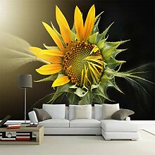 Fototapete Premium Photo Schöne Sonnenblume-3D