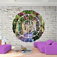 Fototapete Provence 396 x 280 cm - Vliestapete - Wandtapete - Vlies Phototapete - Wand - Wandbilder XXL - Runa Tapete 9055012b