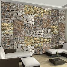 Fototapete - Puzzle with stones