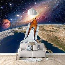 Fototapete Raumfahrzeug 3D Wandbilder Für
