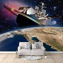 Fototapete Raumschiff 3D Wandbilder Für Fernseher
