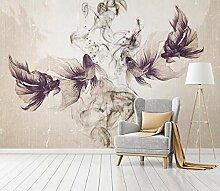 Fototapete Retro Tapete Wohnzimmer Wandbilder