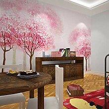 Fototapete Romantische Sakura Vlies Tapete Moderne