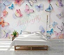 Fototapete Romantischer Schmetterling 352x250cm