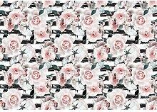 Fototapete Rosen Papier 2.54 m x 368 cm