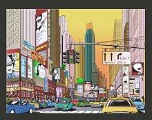Fototapete Rush hour - New York 154 cm x 200 cm