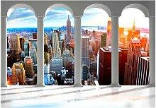 Fototapete Säulen und New York East Urban Home