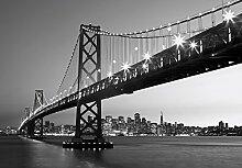 Fototapete San Francisco Skyline Wand Bild