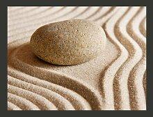 Fototapete Sand und Stein: Zen 231 cm x 300 cm