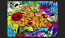 Fototapete Scary graffiti 210 cm x 300 cm