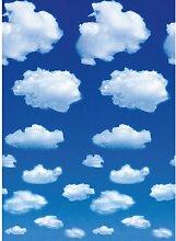 Fototapete Schäfchen-Wolken 254 cm x 183 cm