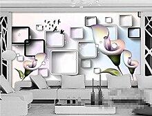 Fototapete Schöner Blumenkasten 400x280cm foto