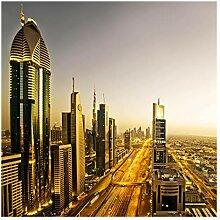 Fototapete selbsthaftend - Goldenes Dubai -