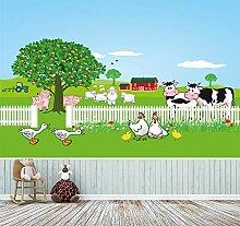Fototapete selbstklebend | Auf dem Bauernhof | in