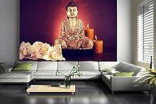 Fototapete selbstklebend Buddha IV - Vintage -
