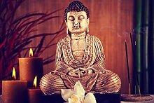 Fototapete selbstklebend Buddha V - Vintage -