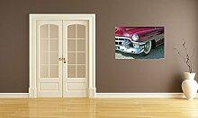 Fototapete selbstklebend Cadillac - 135x90 cm -