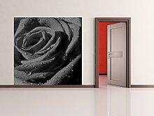 Fototapete selbstklebend Rote Rose mit