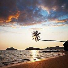 Fototapete selbstklebend Strand - 200x200 cm -
