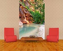 Fototapete selbstklebend Virgin River - 130x200 cm