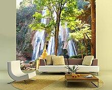 Fototapete selbstklebend Waterfall in Myanmar -