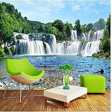 Fototapete Selbstklebende Tapete Wasserfall Natur