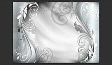 Fototapete Silver Ornament 280 cm x 400 cm