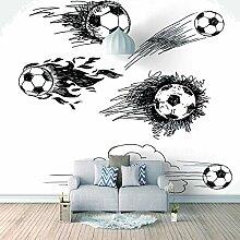 Fototapete Sketch Art, Fußball Moderne Wandbilder