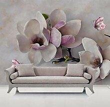 Fototapete Skulptur Orchidee 3D Wandbilder Für