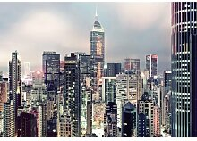 Fototapete Skyline 254 cm H x 368 cm B Komar