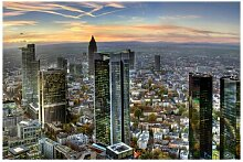 Fototapete Skyline Mainhattan Frankfurt
