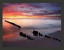 Fototapete Sonnenaufgang an der Ostsee 154 cm x
