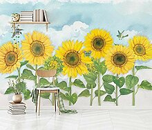 Fototapete Sonnenblume Tapete Wandbilder