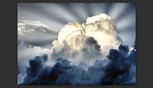 Fototapete Sonnenstrahlen am Himmel 154 cm x 200 cm